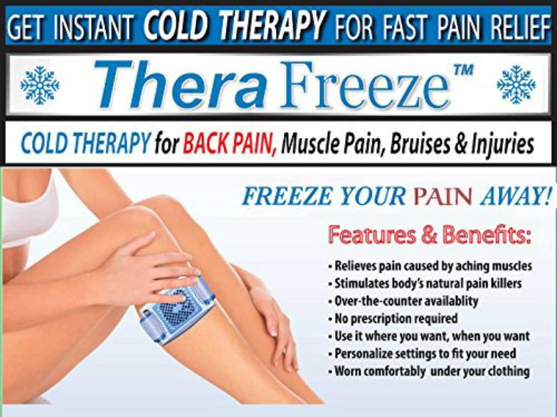 The Original Thera Freeze Patented Cold Therapy Belt