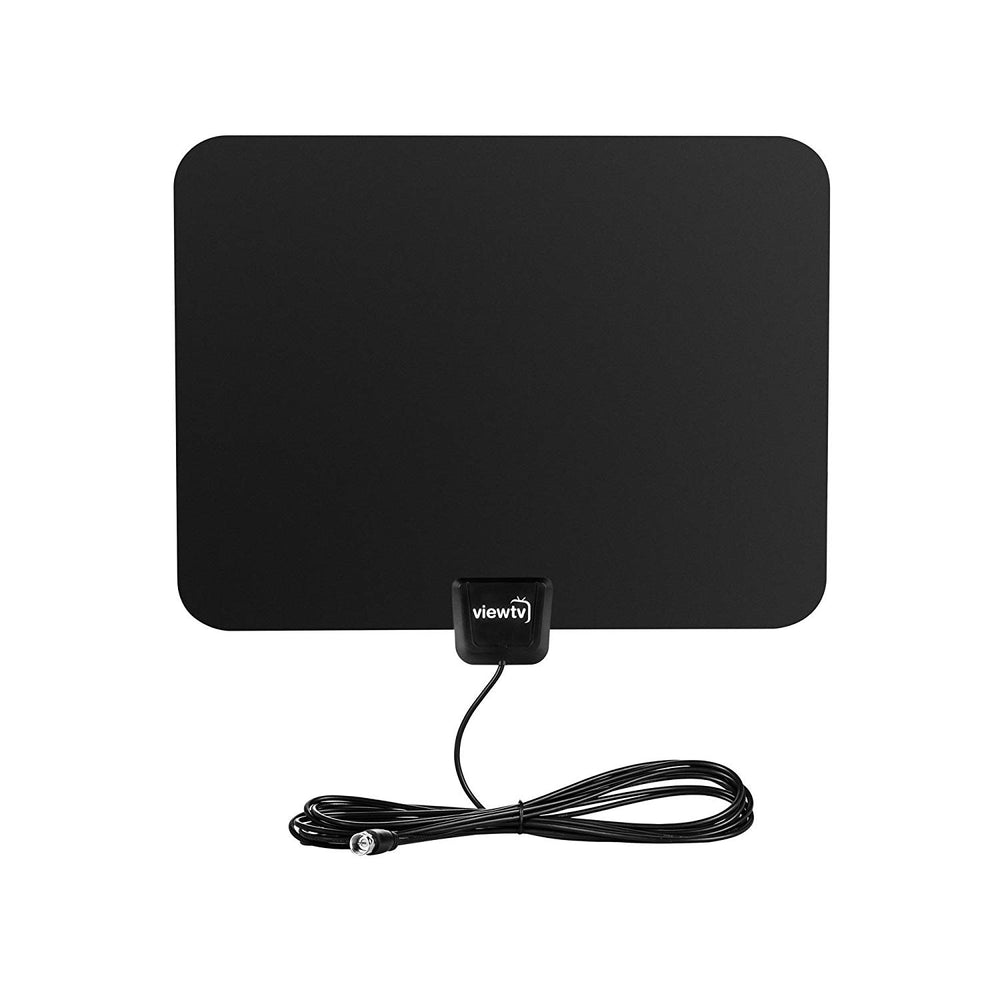 Digital Amplified HDTV Antenna, Flat Indoor UHF/VHF 1080P with Detachable Signal Amplifier