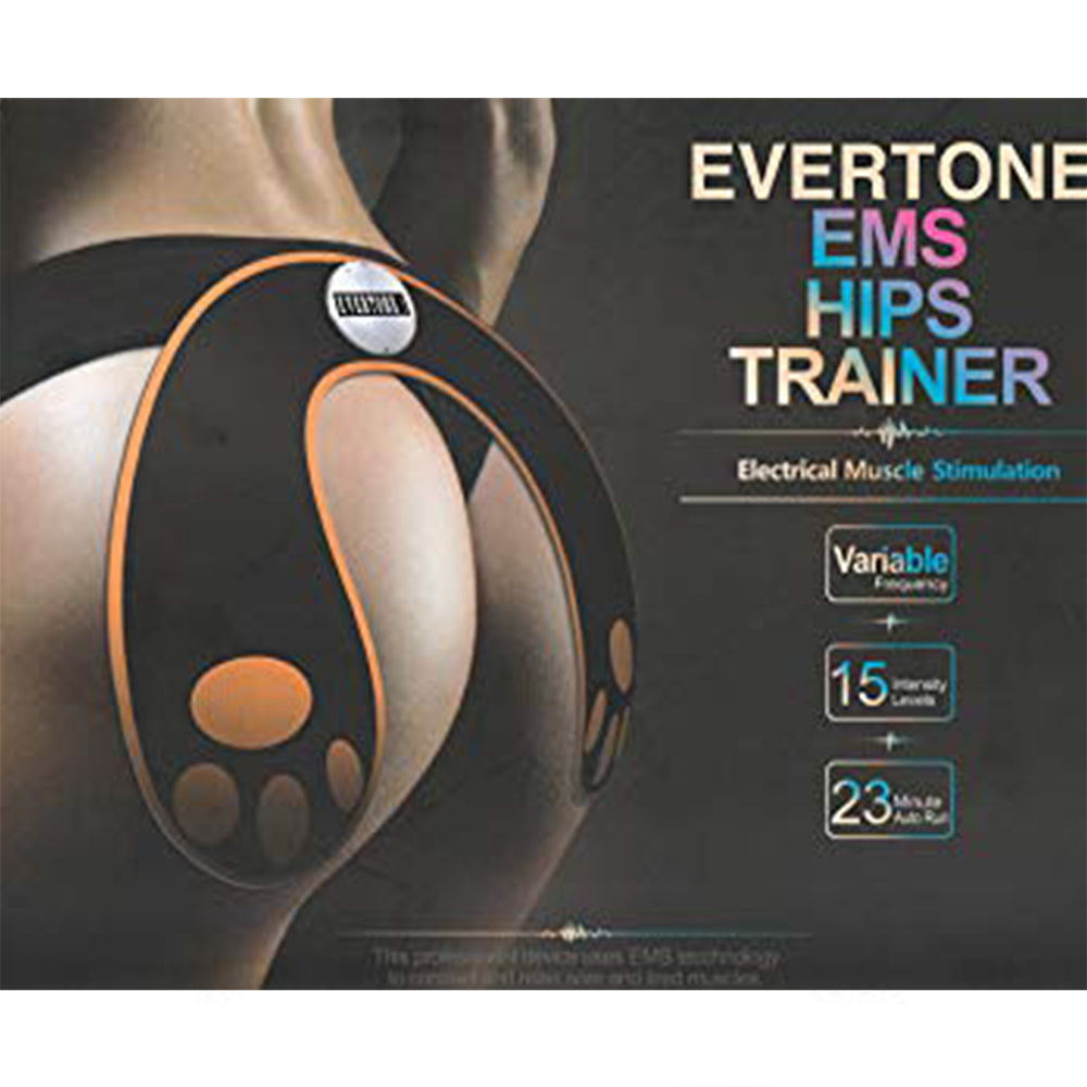 EverTone EMS Hips Trainer and Butt Toner Helps To Lift, Shape and Firm the Butt
