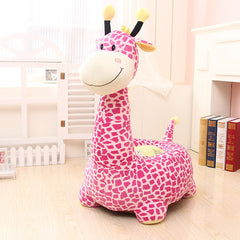 Plush Stuffed Toys dog giraffe dinosaur elephant children cartoon seat TB