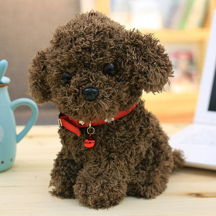 Teddy soft toy bell dog doll doll collar dog doll  - Stuffed Toys 22cm TB
