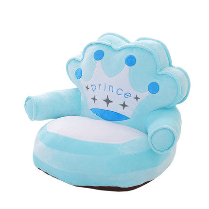 Crown Princess Prince child sofa seat cartoon baby sofa  cushions 2 colors - Stuffed Toys TB