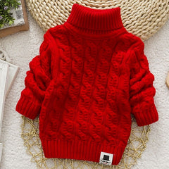 Boys & Girls Clothing - Turtleneck with Beard Label Sweater ***