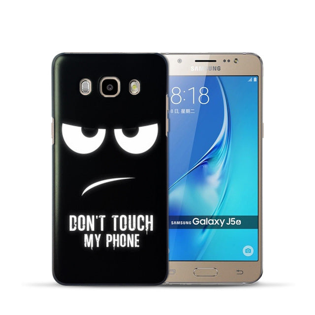 Cool Cartoon Hard PC Phone Back Cover Case For Samsung Galaxy J3 J5 J7 A3 A5 2016 2015 S3 S4 S5 Mini S6 Edge Note 3 4 smartphone covers