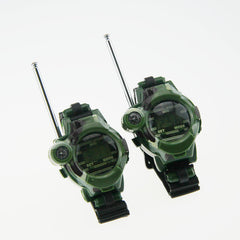 1 Pair Cool Walkie Talkies Kids Watches