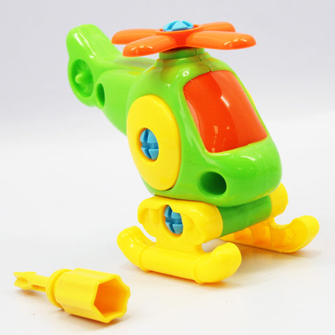 3D Aircraft Puzzle for Baby Early Learning-Kids Toys