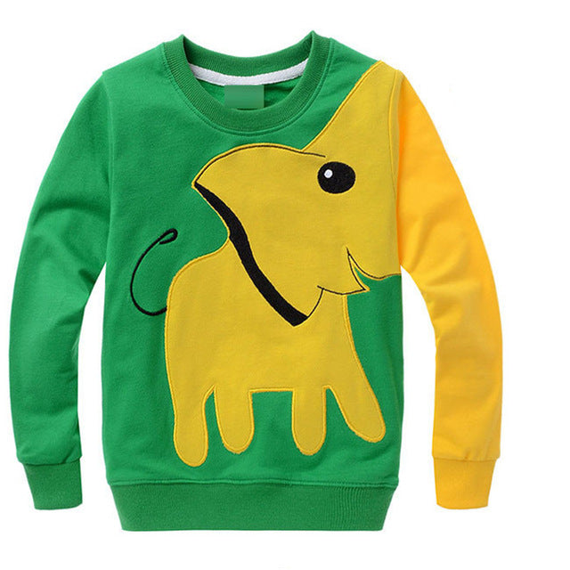 Little Elephant Sweater - Boys Clothing