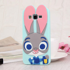 3D Cartoon Soft Silicone Back Cover Case for Samsung Galaxy S8 Plus S6 S7 Edge S5 A3 A5 A7 J1 J2 J3 J5 J7 2016 smartphone covers