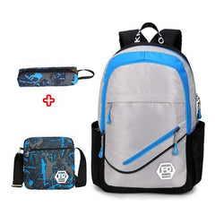 Waterproof School Bag, includes pencil case and cross bag /School Bags Stationary/School