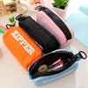 Image of Canvas Pencil Case with big zipper-Stationary/School