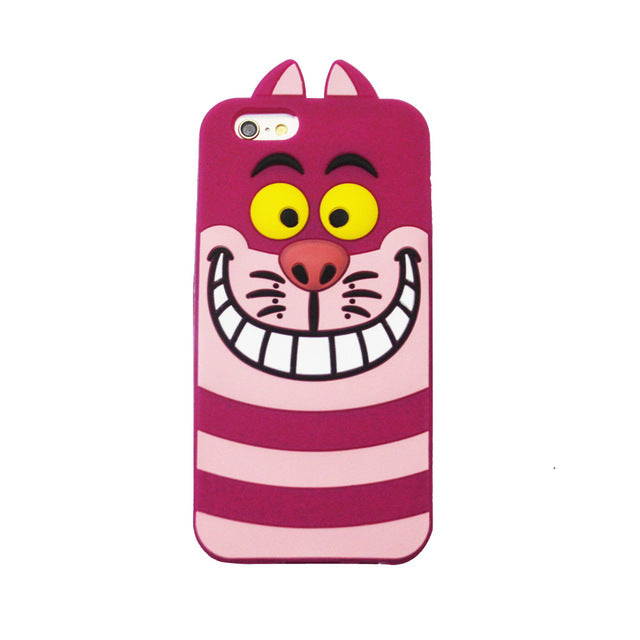 3D Cartoon Ice Cream Stitch Cat Soft Silicone Back Cover For iPhone 4/4s/5/5S/5C/SE/6/6S/6 6s Plus/7/7 Plus smartphone covers