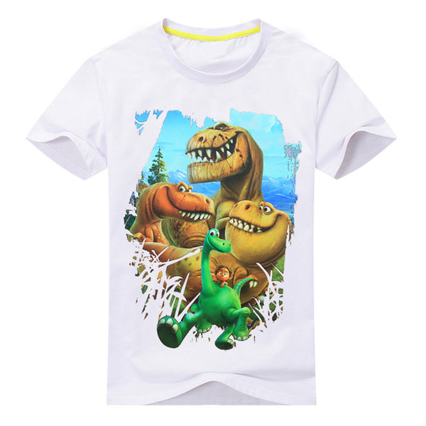 The Good Dinosaur Short Sleeve T-Shirt Kids 100%Cotton Clothes ***