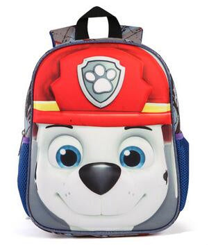 3D School Bags backpack kids Puppy Stationary/School