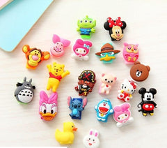 Anti-fracture 10pcs/lot Cartoon USB cable Earphones Protector For iphone android mobile accessories