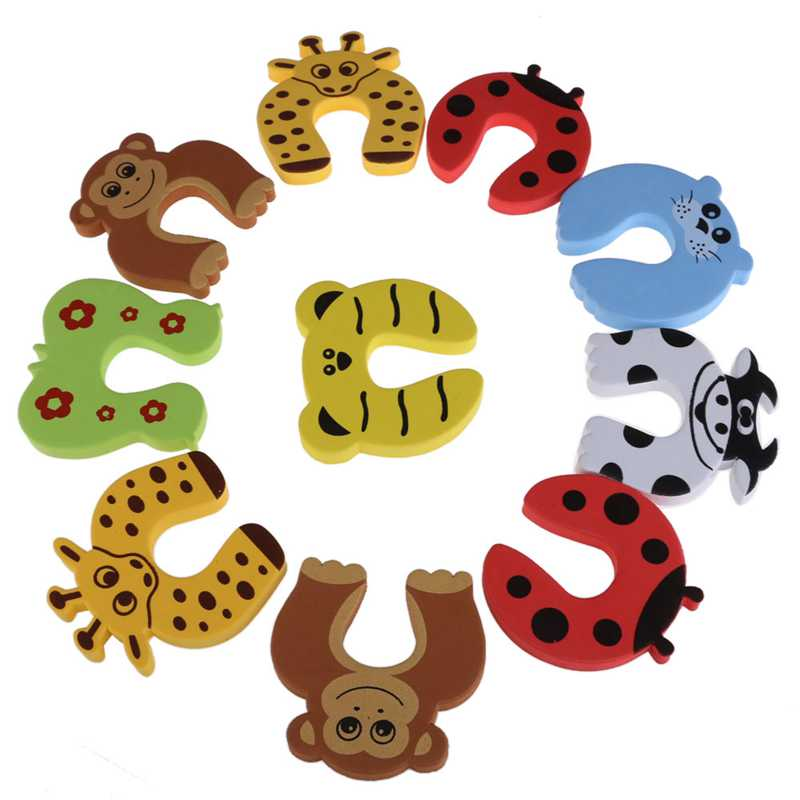 Set Cute Animal Baby Safety Door-Baby Toys