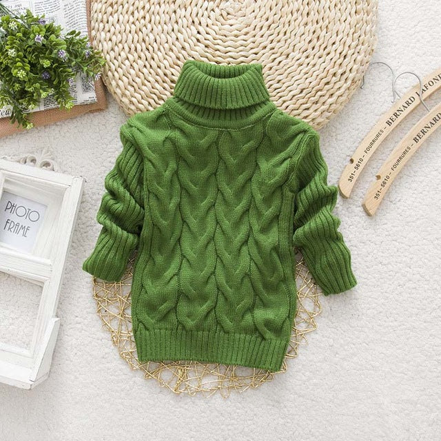 Turtleneck knitted Sweaters- Clothes ***