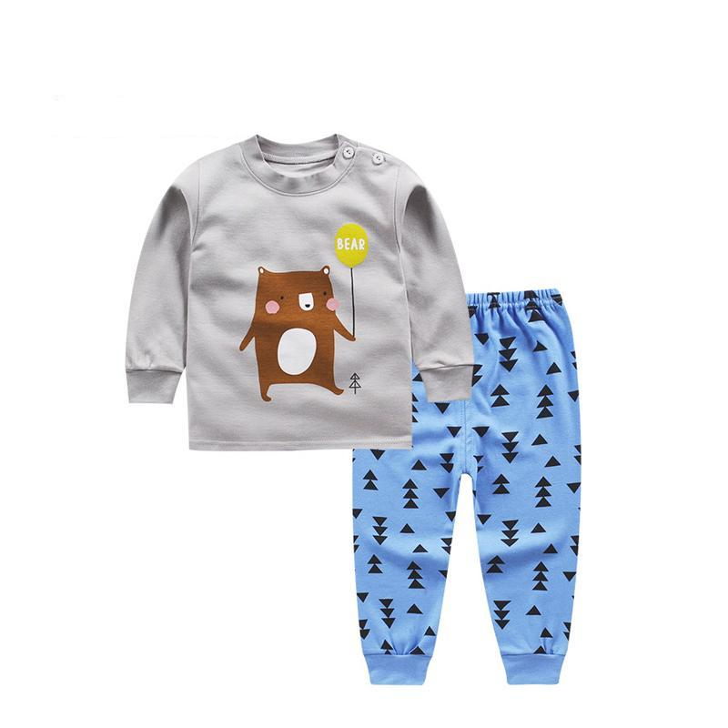 Sleepwear suit boys/ girls clothes with cute patterns ***
