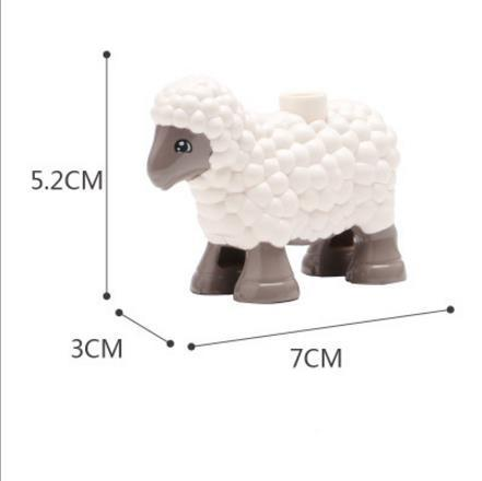 Cute Animal Blocks Farm Collection Collect Them All!