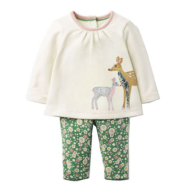 Girls Animal Pattern Comfy wear -  Girls Clothes