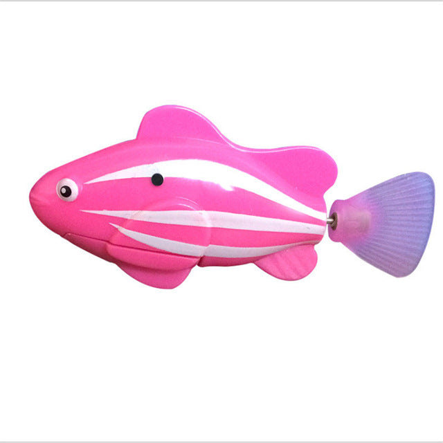 6 Color Funny Water Electronic Robo fish-Baby Toys