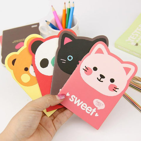 2PCS  Cartoon Creative Notebooks Random