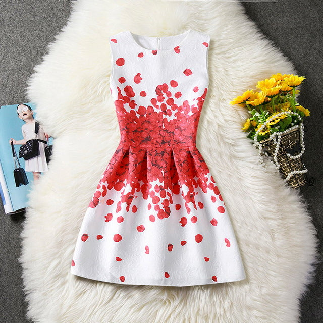 Girls Summer Floral Dresses - Girls Clothes