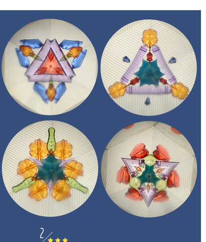 Little Prince Kaleidoscope Kids toys gifts traditional nostalgia polygon kaleidoscope science experiment TB