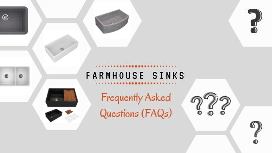 All About Farmhouse Sinks: Frequently Asked Questions (FAQs)