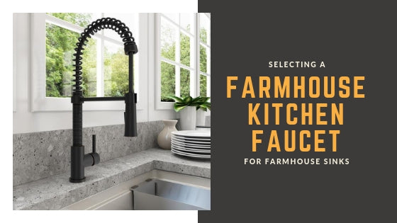 Farmhouse Kitchen Faucets for Farmhouse Sinks
