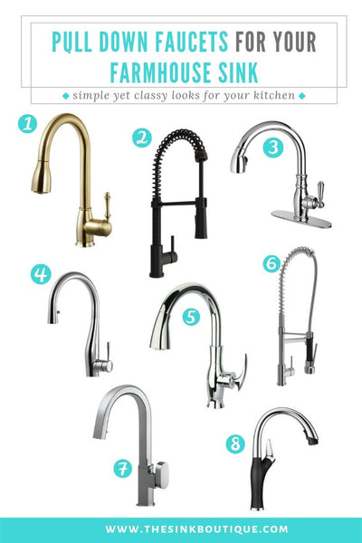 Farmhouse Kitchen Faucets for Farmhouse Sinks – The Sink Boutique