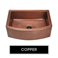 Copper Concrete Farmhouse Sinks | The Sink Boutique