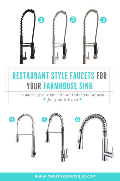 Farmhouse Kitchen Faucets for Farmhouse Sinks – The Sink ...