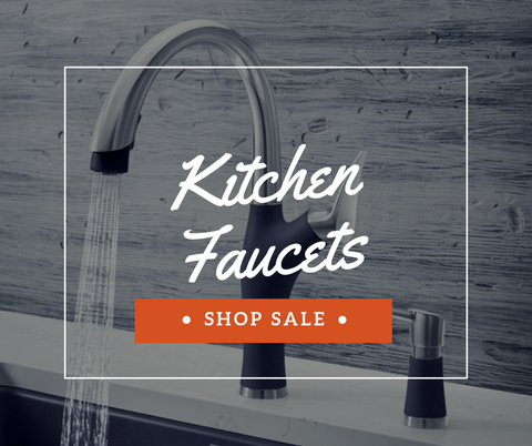 Sale on All Kitchen Faucets | The Sink Boutique