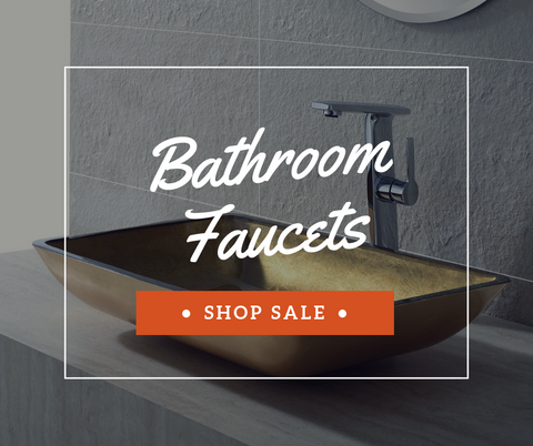 Sale on All Bathroom Faucets | The Sink Boutique