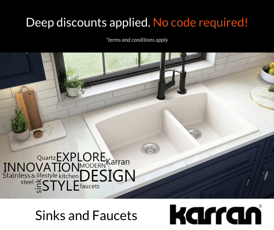 Karran Sales and Promotions