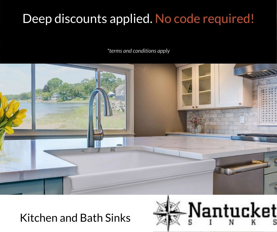 Nantucket Sinks Sales and Promotions