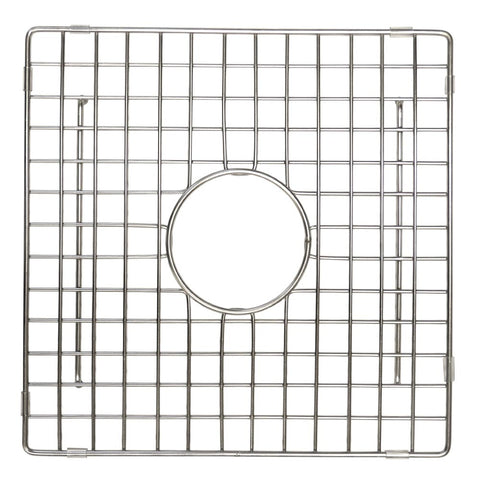 "Native Trails 12"" Square Bottom Grid in Stainless Steel, GR934-SS"