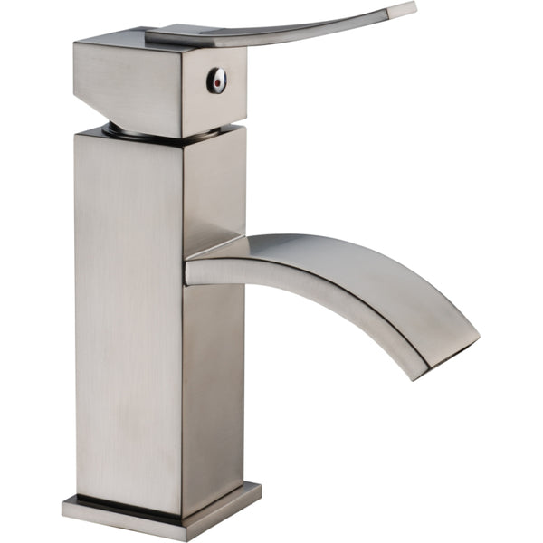 "Dawn 7"" 1.2 GPM Bathroom Faucet, Brushed Nickel, AB78 1258BN"