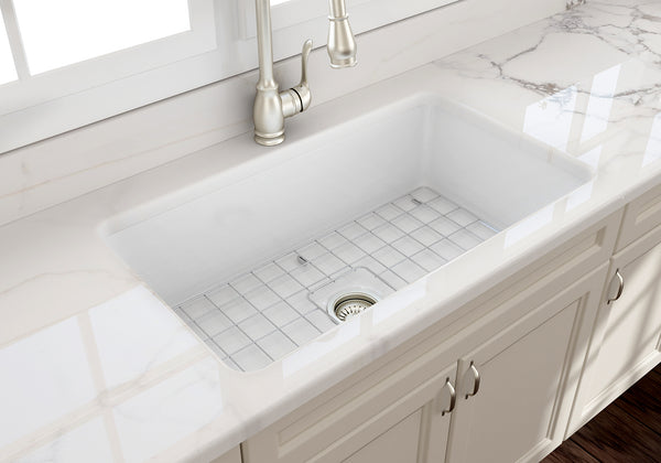 Bocchi Sotto 32 Quot Fireclay Undermount Kitchen Sink Single