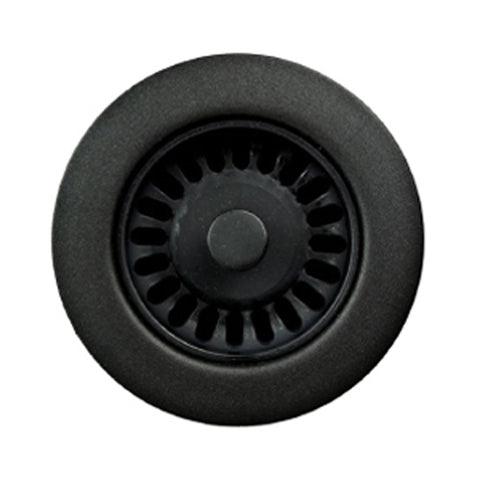"Houzer 5"" Plastic Disposal Flange, Black, 190-9565"