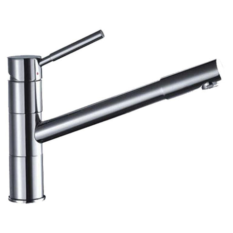 "Dawn 9"" 1.8 GPM Kitchen Faucet, Chrome, AB33 3241C"