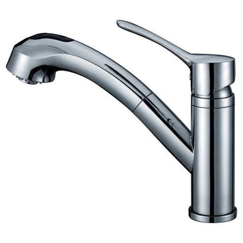 "Dawn 9"" 1.8 GPM Pull Out Kitchen Faucet, Chrome, AB50 3711C"