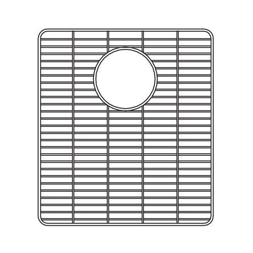 "Houzer 13"" Stainless Steel Bottom Grid, 629703"