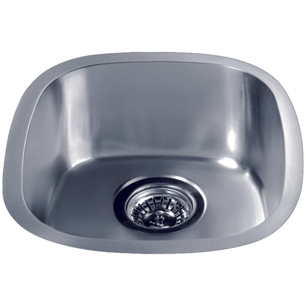 "Dawn 13"" Stainless Steel Undermount Kitchen Sink, 3237"