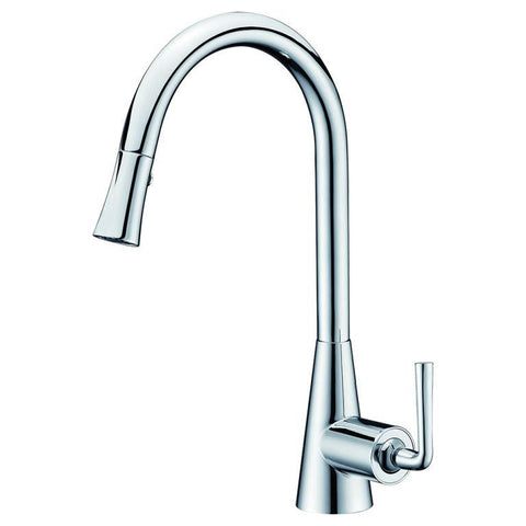 "Dawn 17"" 1.8 GPM Pull Down Kitchen Faucet, Chrome, AB30 3788C"