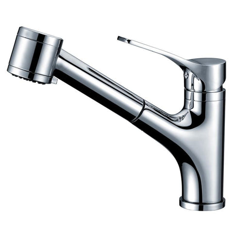 "Dawn 9"" 1.8 GPM Pull Out Kitchen Faucet, Chrome, AB50 3709C"