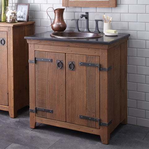 "Native Trails 30"" Americana Vanity in Chestnut, VNB301"