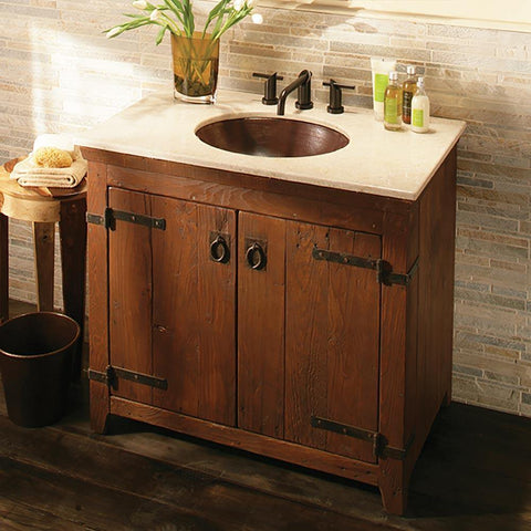 "Native Trails 36"" Americana Vanity in Chestnut, VNB361"