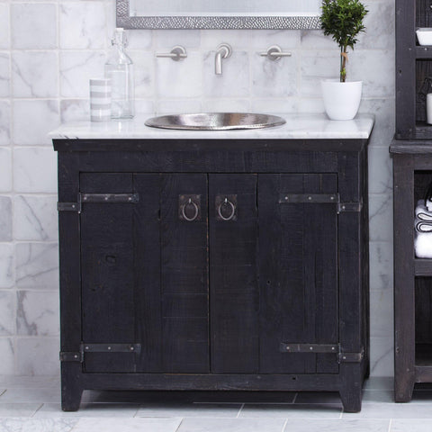 "Native Trails 36"" Americana Vanity in Anvil, VNB368"