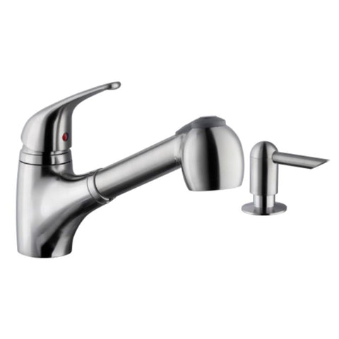 "Cahaba 8"" Single Handle Faucet, Pull Out"